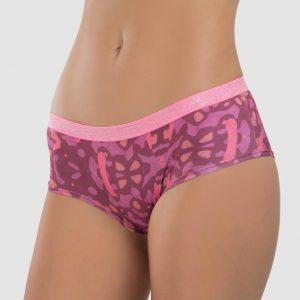 Panty cachetero brillo rosado
